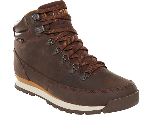 The North Face M's Back-To-Berkeley Redux Leather Shoes Chocolate Brown/Golden Brown